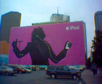 image of iPod banner